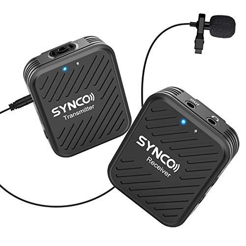 SYNCO G1 A1 Funkstrecke - mit einem Sender und einem Mikrofon