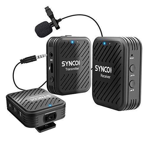 SYNCO G1 A2 Funkstrecke - mit zwei Sendern und zwei Mikrofonen